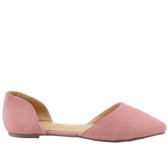 ba2fc871ea Women s D orsay Pointed Toe Mauve Flat Ballet. Boutique. Chase + Chloe